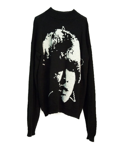 """BRIAN JONES"" MOCKNECK SWEATER"