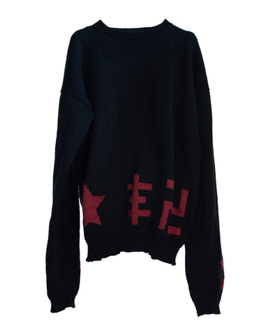 """FUCKING FASCIST"" CREWNECK SWEATER"