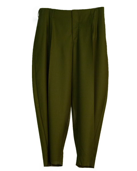 """NEUE WELLE"" WOOL TROUSERS"