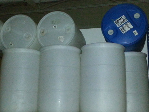 55 Gallon Plastic Drums