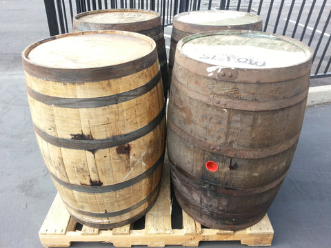 Oak Whiskey Barrels