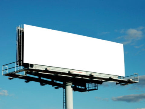 Blank billboard shot. Material Resourcers repurposes materials from industrial & manufacturing companies. Bring us your waste, excess, non-recyclable, by-product, remnant, blemished, cancelled, and expired materials.