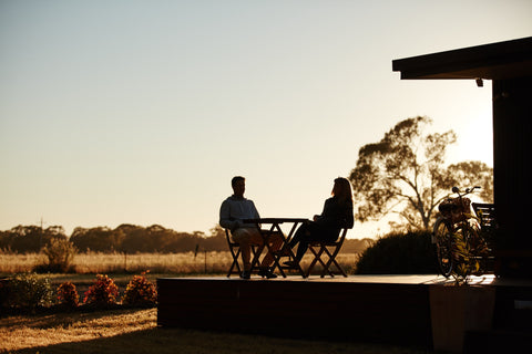 Moodemere Lake House accommodation Rutherglen