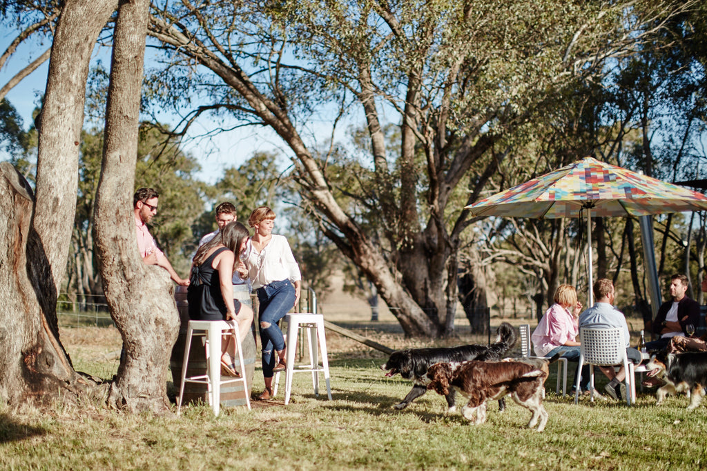 Easter weekend in Rutherglen at Scion winery