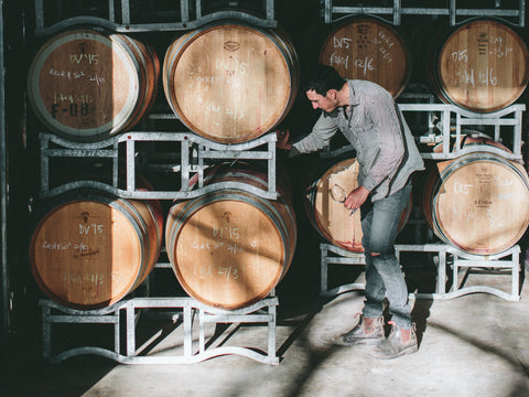 Scion Winemaker Rowly Milhinch handcrafts small-batch boutique wines in Rutherglen