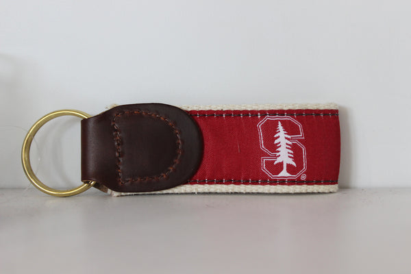 Stanford Ribbon Keychain - Stanford Student Store