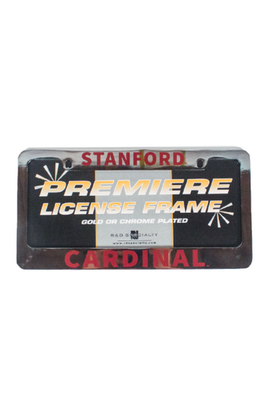 Stanford License Plate