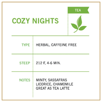 Cozy Nights - Vashon Coffee Company