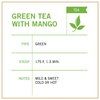 Green Tea with Mango - Vashon Coffee Company