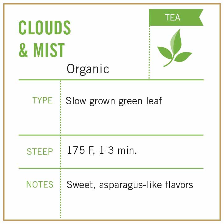 Clouds & Mist Tea Organic - Vashon Coffee Company