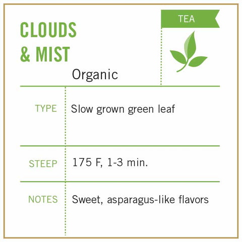 Clouds & Mist Tea Organic