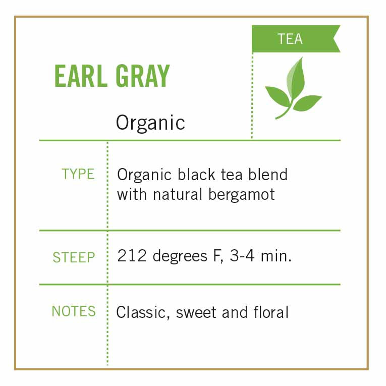 Earl Gray Tea Organic - Vashon Coffee Company