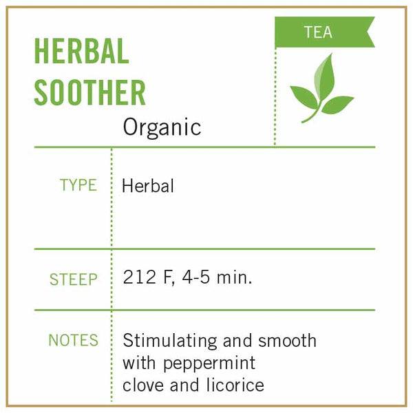 Herbal Soother Tea - Vashon Coffee Company