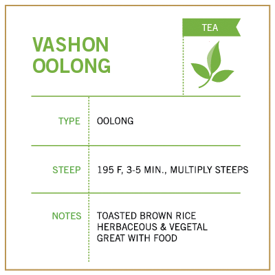Vashon Oolong - Vashon Coffee Company