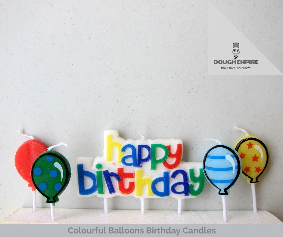 Thematic Birthday Candles