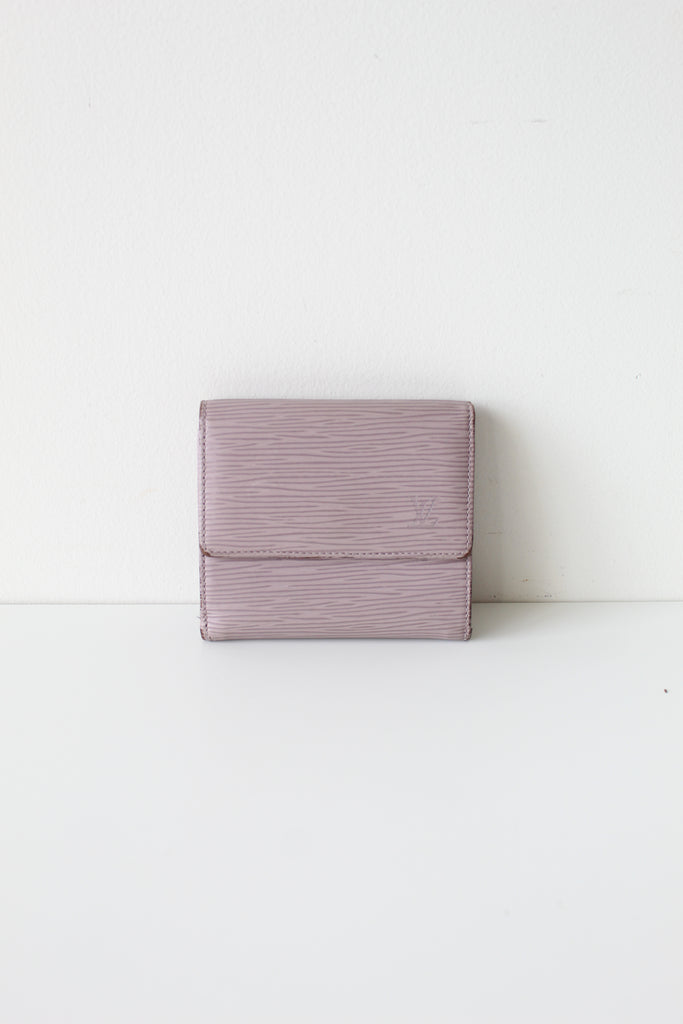Louis Vuitton Purple Epi Bifold Wallet