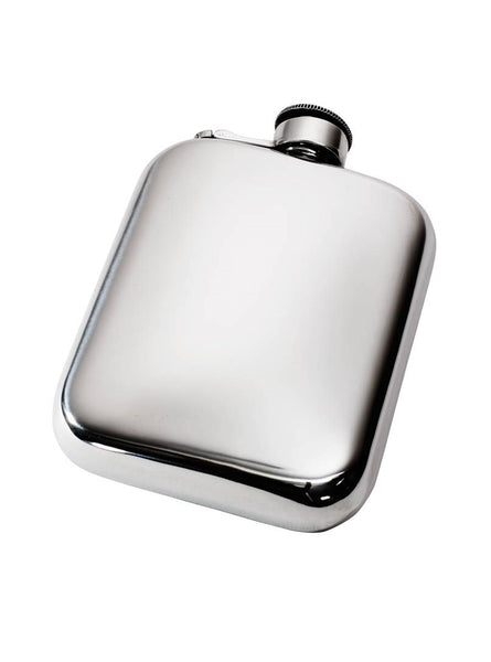 Wentworth Pewter Flask 6oz Pocket | Mr Wares