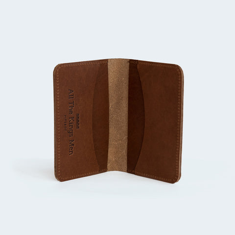 All the Kings Men - Card Wallet Brown