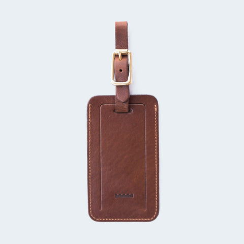 All the Kings Men - Luggage Tag Brown