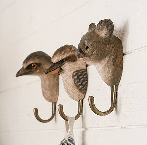 Wildlife Garden Hook - Emu