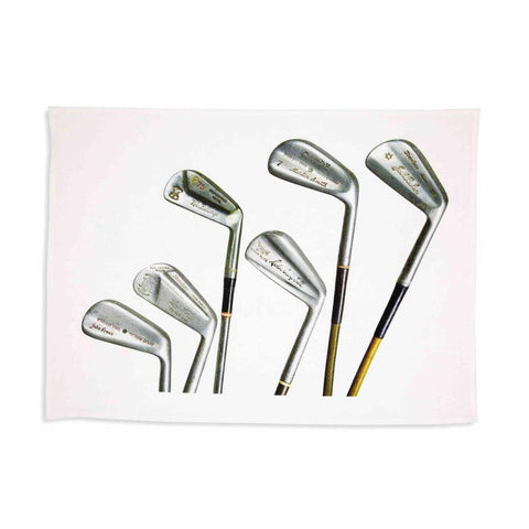 Tea Towel Sporting Nation Vintage Signature Golf Clubs