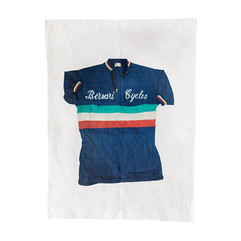 Tea Towel Sporting Nation Borsari Cycles