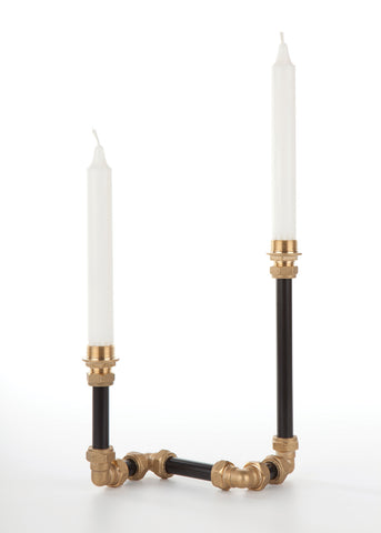 Pipe Candelabra Two