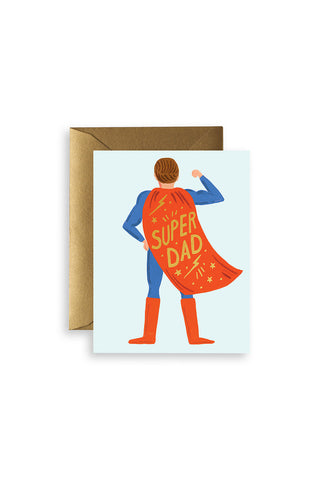 Card - Father's Day Super Dad