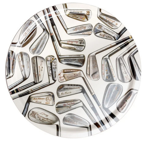 Sporting Nation Tray Vintage Signature Golf Clubs