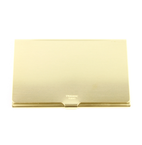 Diarge Brass Card Case