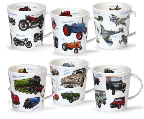 Dunoon - Vintage Collection Mug Motor Bikes