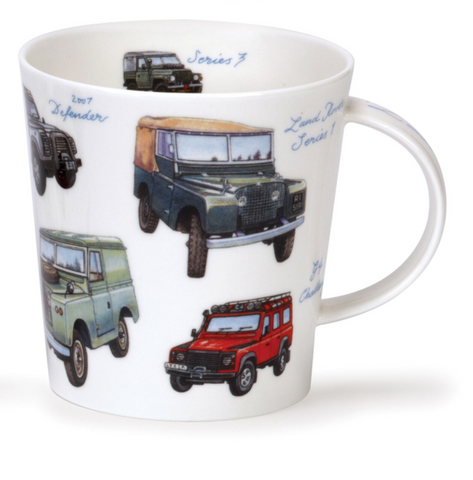 Dunoon - Vintage Collection Mug Land Rovers
