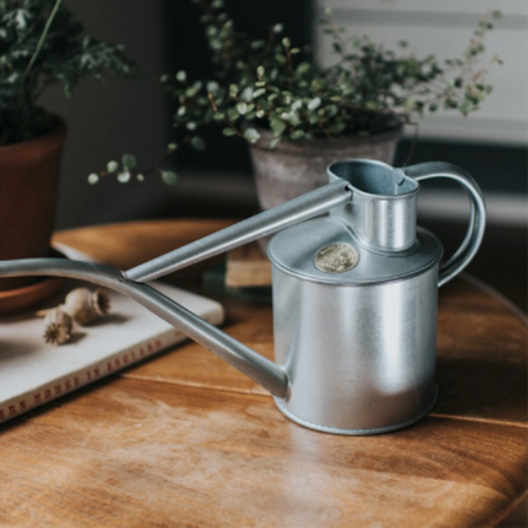 Haws Watering Can 1 Litre Galvanised