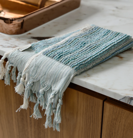 Loom Towels Ocean Stripe