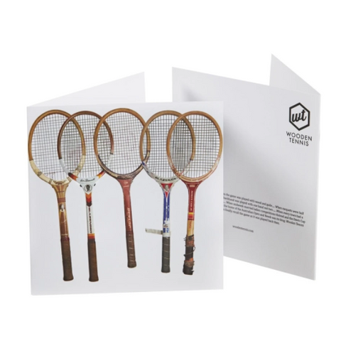 Card - Sporting Nation Racquet Line Up