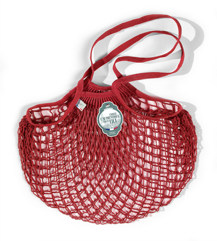 Filt String Bag Red