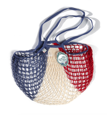 Filt String Bag Blue/White/Red