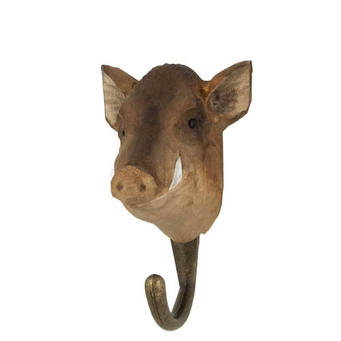 Wildlife Garden Hook - Boar
