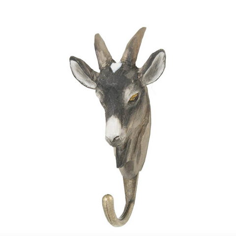 Wildlife Garden Hook - Goat