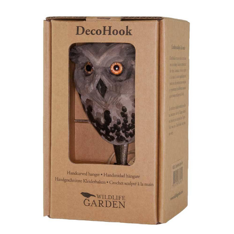 Wildlife Garden Hook - Owl