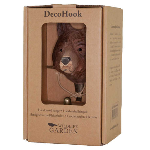 Wildlife Garden Hook - Bear