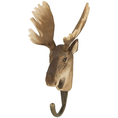 Wildlife Garden Hook - Moose