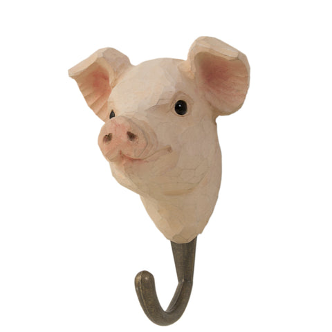 Wildlife Garden Hook - Pig