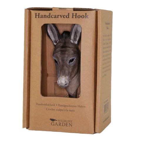Wildlife Garden Hook - Donkey