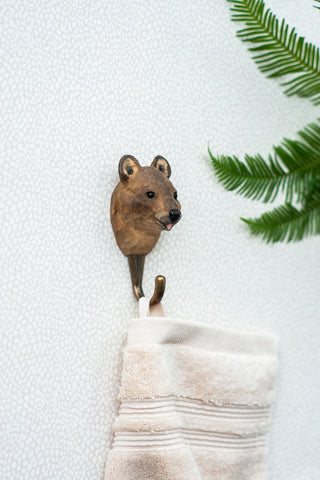 Wildlife Garden Hook - Quokka