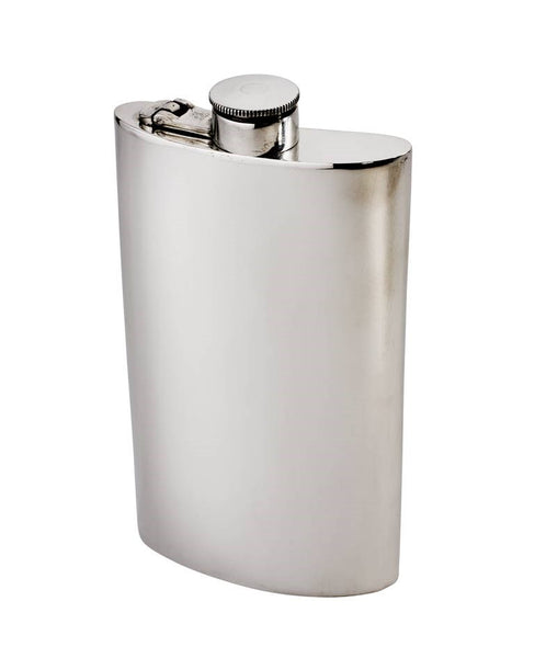 Wentworth Pewter Flask 8oz | Mr Wares