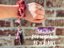 Load image into Gallery viewer, Scrunchie Keychains