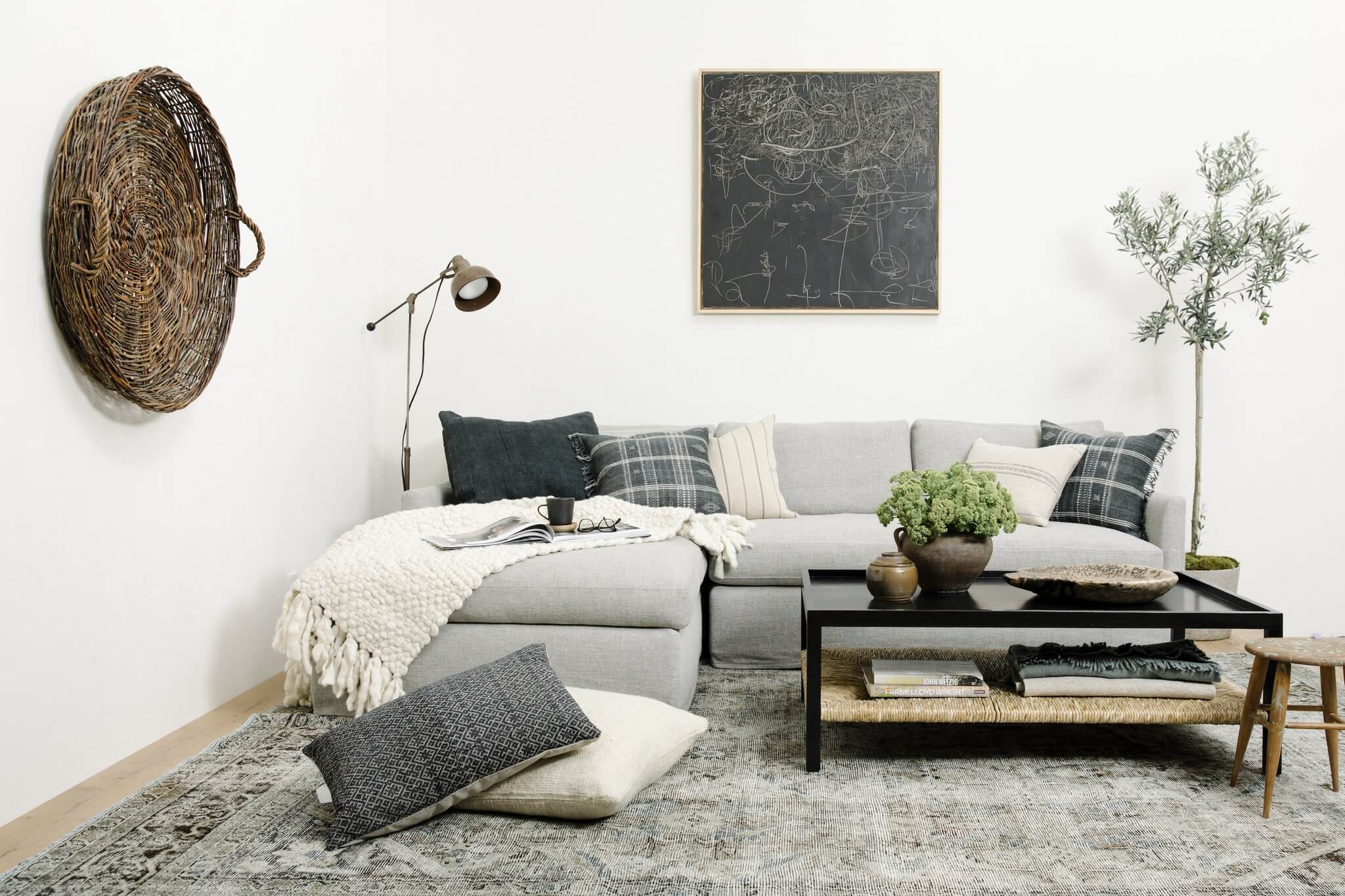 Carpenter Sofa as a Sectional