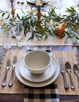 Farmhouse Dinner Collection in Stone