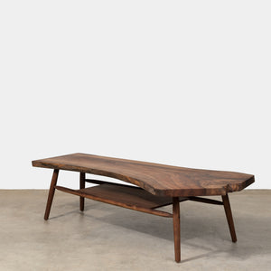 Live Edge Coffee Table - Walnut - Furniture - Line - Coffee Table – Shoppe Amber Interiors